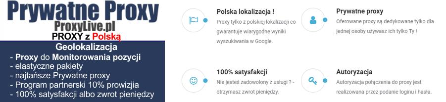 prywatne proxy